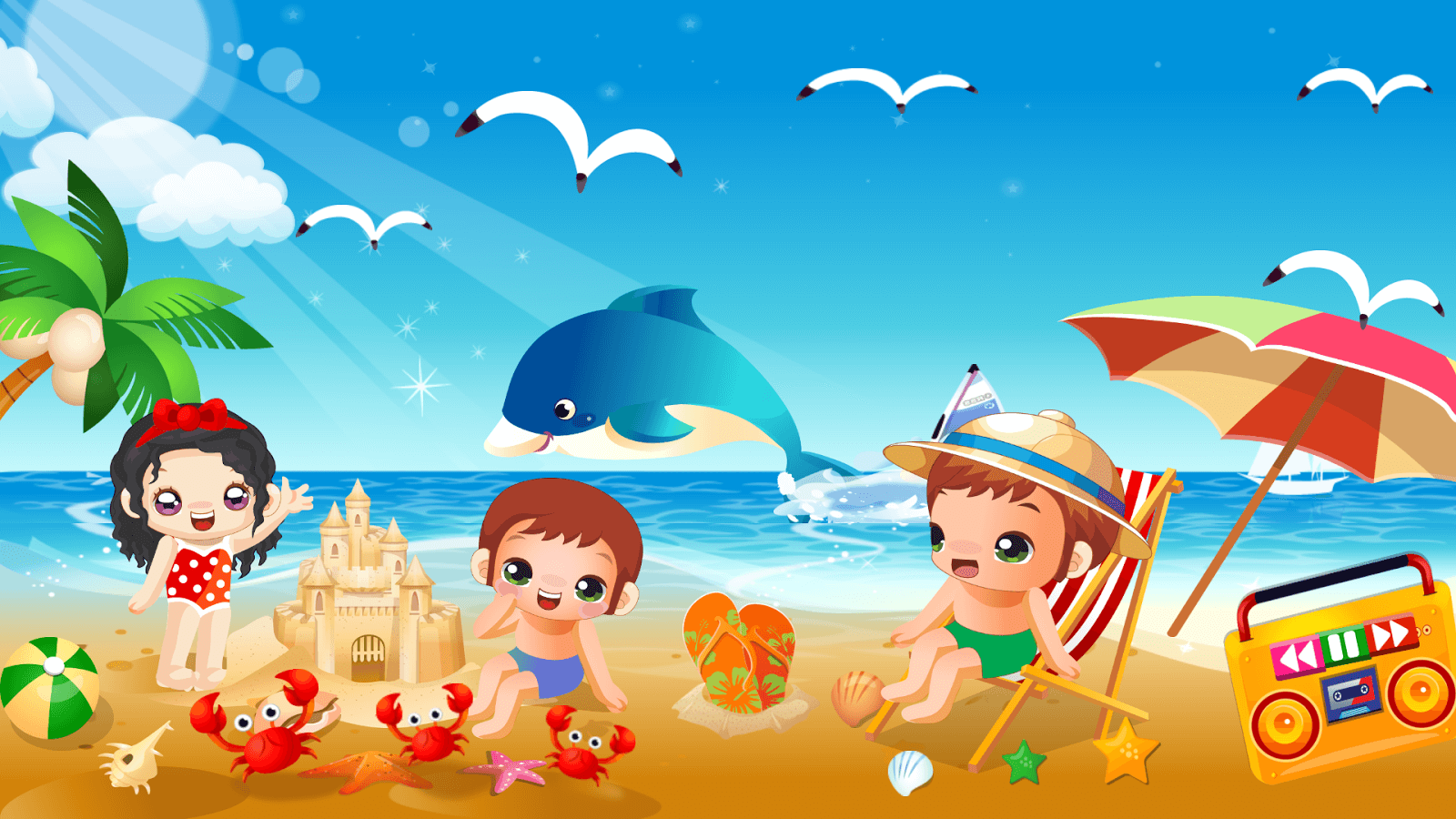 Summer Beach Party Wallpaper Www Pixshark Com Images